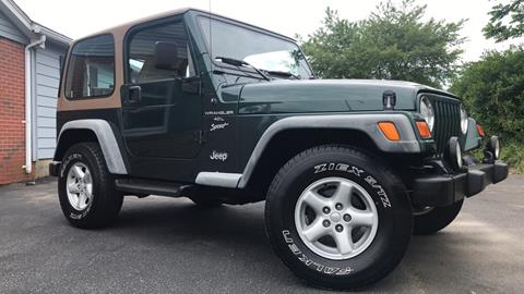2001 Jeep Wrangler for sale in Smyrna, DE