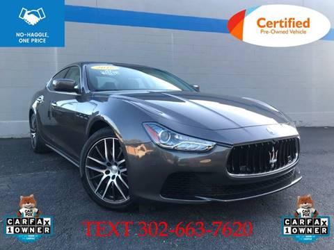 Used Maserati Price >> 2016 Maserati Ghibli For Sale In Smyrna De