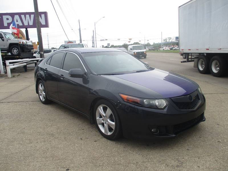 2009 acura tsx 4dr sedan 5a w technology package in houston tx anf auto finance. Black Bedroom Furniture Sets. Home Design Ideas