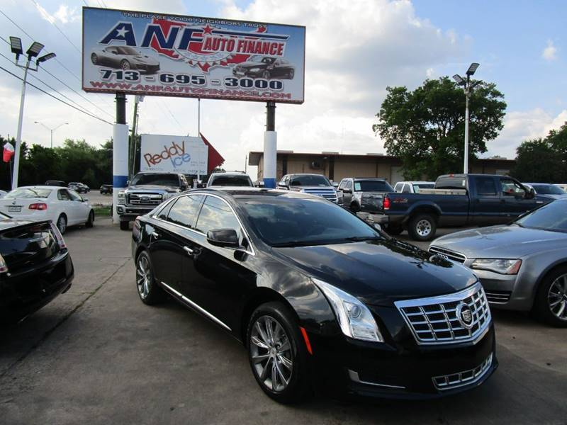 2013 Cadillac Xts 3 6L V6 4dr Sedan In Houston TX - ANF AUTO