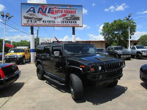 2005 HUMMER H2 for sale in Houston, TX