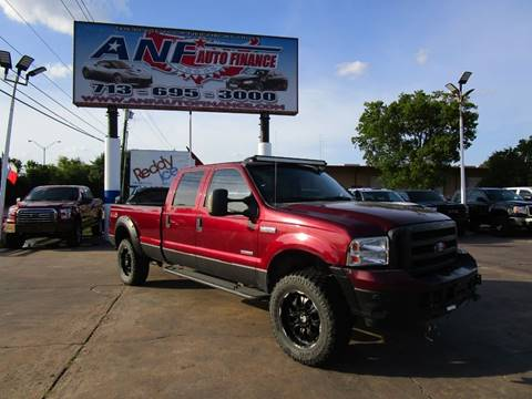 Used Diesel Trucks >> 2005 Ford F 350 Super Duty For Sale In Houston Tx