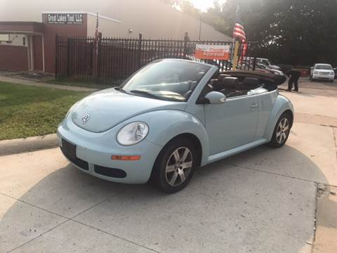 2006 Volkswagen New Beetle for sale at LA Motors Inc. in Warren MI