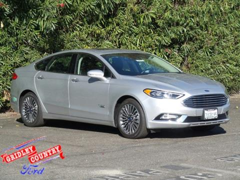 2017 Ford Fusion Energi for sale in Gridley CA