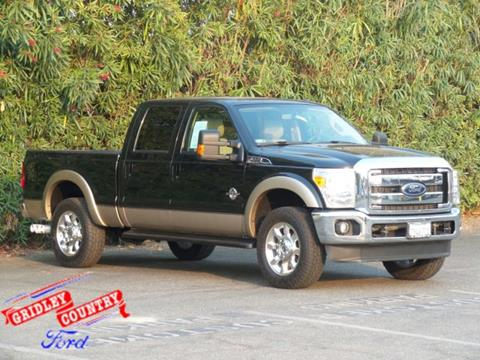2012 Ford F-250 Super Duty for sale in Gridley, CA