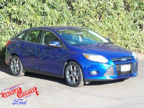 2014 Ford Focus for sale in Gridley CA