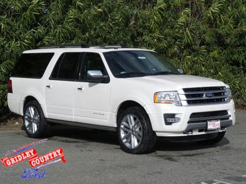 2017 Ford Expedition EL for sale in Gridley CA