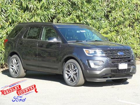 2017 Ford Explorer for sale in Gridley CA