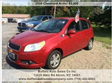 2009 Chevrolet Aveo for sale in Akron, NY