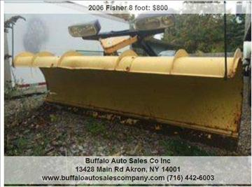 2006 Fisher 8 foot