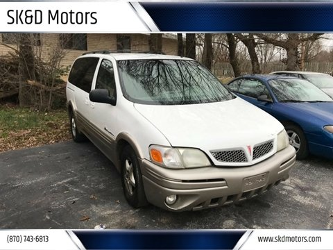 2001 Pontiac Montana for sale in Harrison, AR