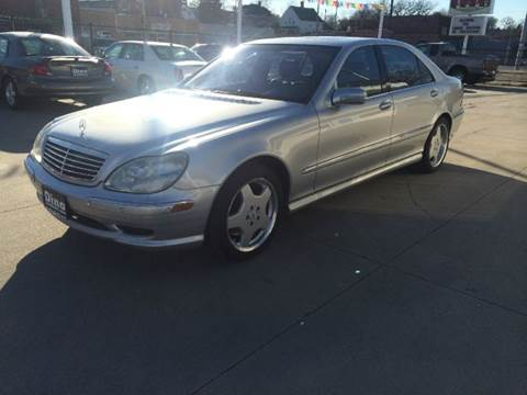 2002 Mercedes-Benz S-Class for sale at Dino Auto Sales in Omaha NE