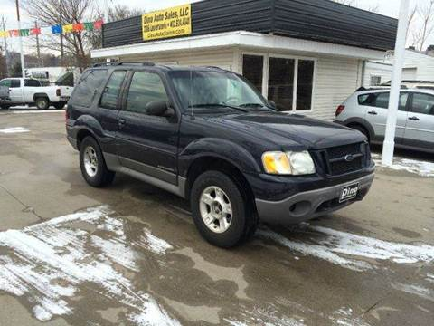 2002 Ford Explorer Sport for sale at Dino Auto Sales in Omaha NE