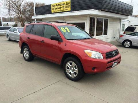 2007 Toyota RAV4 for sale at Dino Auto Sales in Omaha NE