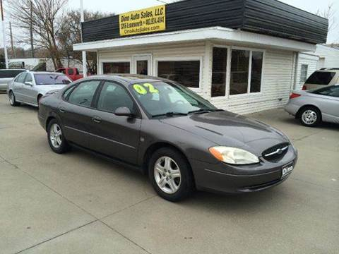 2002 Ford Taurus for sale at Dino Auto Sales in Omaha NE
