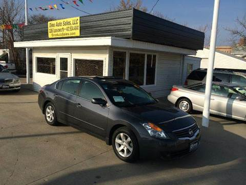 2007 Nissan Altima for sale at Dino Auto Sales in Omaha NE