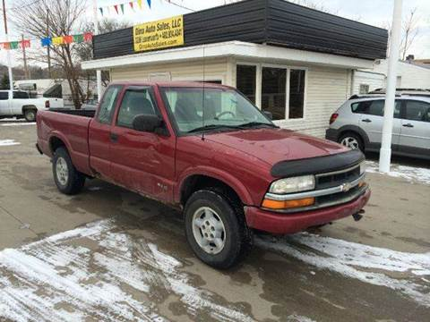 2000 Chevrolet S-10 for sale at Dino Auto Sales in Omaha NE