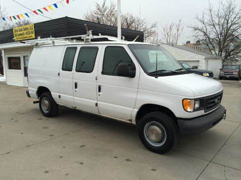 2003 Ford E-Series Cargo for sale at Dino Auto Sales in Omaha NE