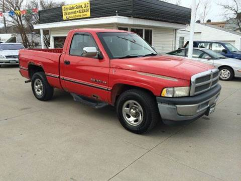 1995 Dodge Ram Pickup 1500 for sale at Dino Auto Sales in Omaha NE