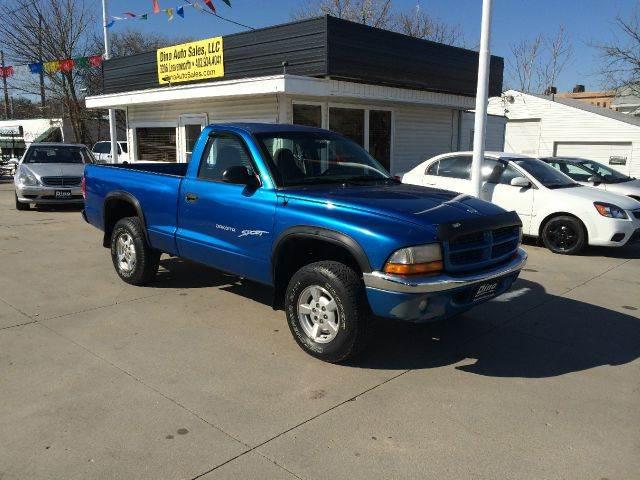 2001 Dodge Dakota for sale at Dino Auto Sales in Omaha NE