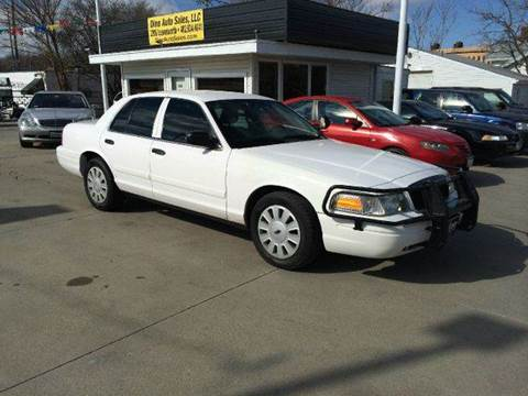 2009 Ford Crown Victoria for sale at Dino Auto Sales in Omaha NE