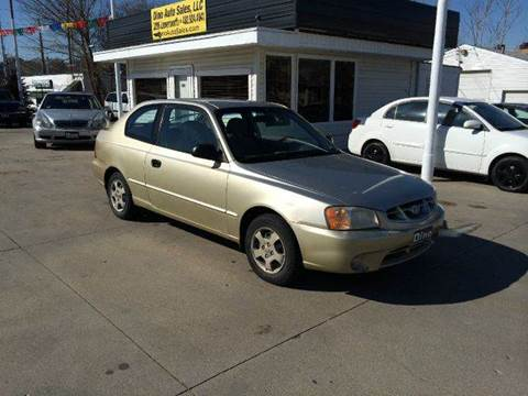 2001 Hyundai Accent for sale at Dino Auto Sales in Omaha NE