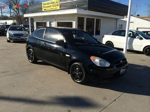 2008 Hyundai Accent for sale at Dino Auto Sales in Omaha NE