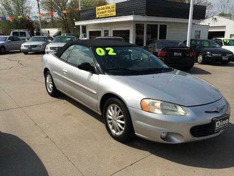 2002 Chrysler Sebring for sale at Dino Auto Sales in Omaha NE