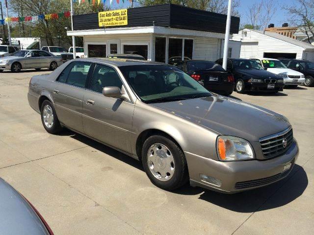 2002 cadillac deville dhs 4dr sedan in omaha ne dino auto sales 2002 cadillac deville dhs 4dr sedan in