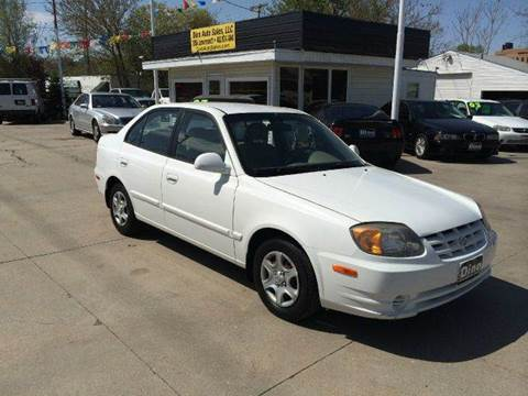 2005 Hyundai Accent for sale at Dino Auto Sales in Omaha NE