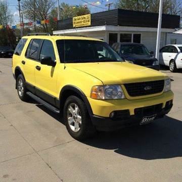 2003 Ford Explorer for sale at Dino Auto Sales in Omaha NE