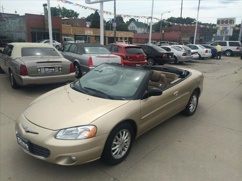 25+ 2001 Chrysler Sebring Lxi Convertible