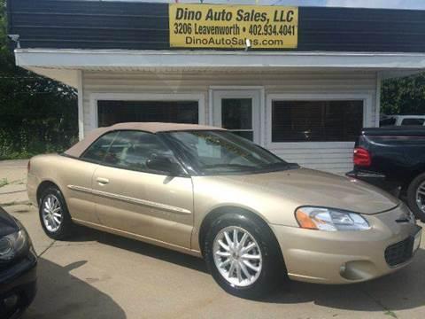 2001 Chrysler Sebring for sale at Dino Auto Sales in Omaha NE