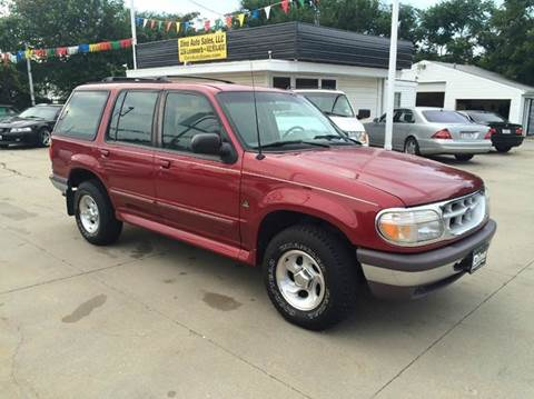 1996 Ford Explorer for sale at Dino Auto Sales in Omaha NE