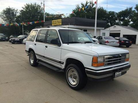 1993 Ford Explorer for sale at Dino Auto Sales in Omaha NE