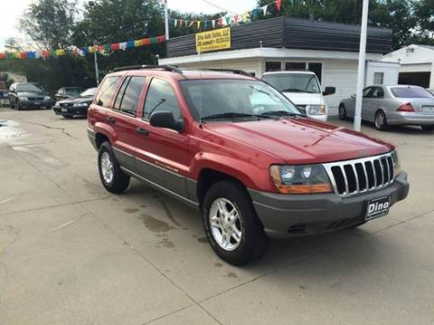 2002 Jeep Grand Cherokee for sale at Dino Auto Sales in Omaha NE