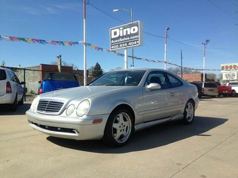 2001 Mercedes-Benz CLK-Class for sale at Dino Auto Sales in Omaha NE