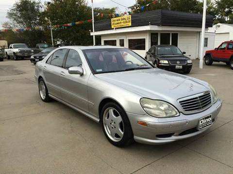 2001 Mercedes-Benz S-Class for sale at Dino Auto Sales in Omaha NE