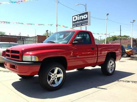 1998 Dodge Ram Pickup 1500 for sale at Dino Auto Sales in Omaha NE