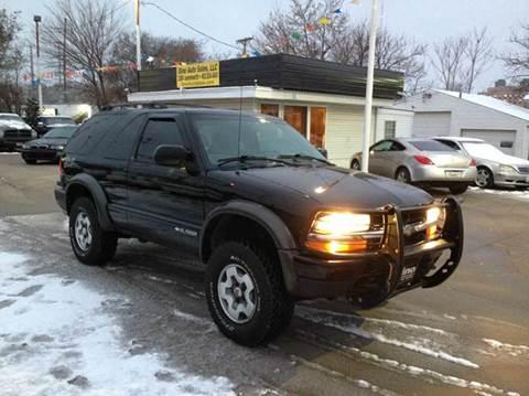 2003 Chevrolet Blazer for sale at Dino Auto Sales in Omaha NE