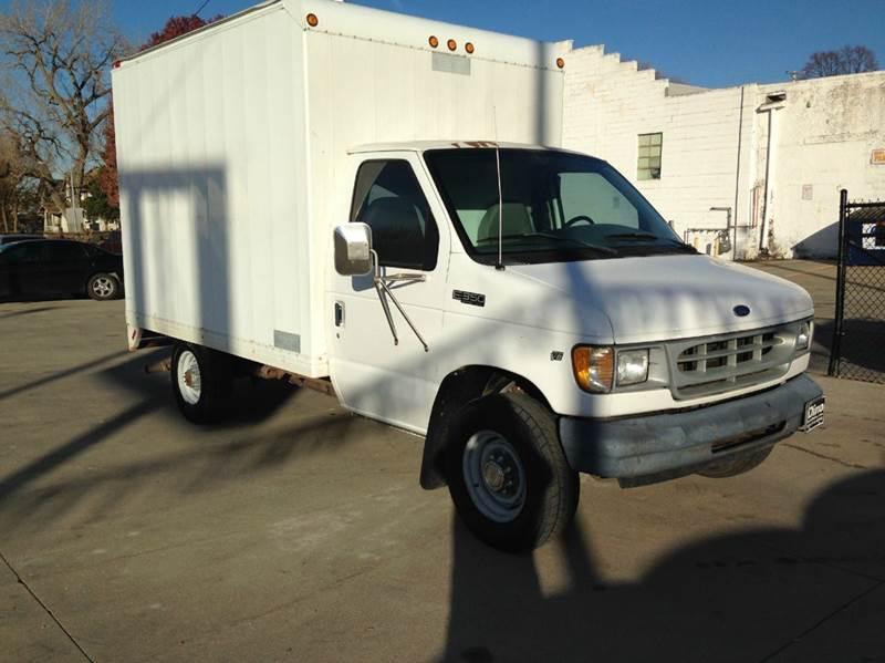 2000 Ford E350 Box Truck for sale at Dino Auto Sales in Omaha NE