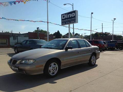 1996 Pontiac Grand Am for sale at Dino Auto Sales in Omaha NE