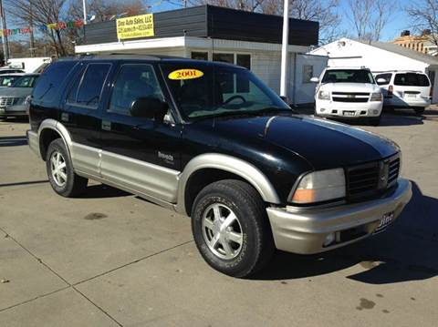 2000 Oldsmobile Bravada for sale at Dino Auto Sales in Omaha NE