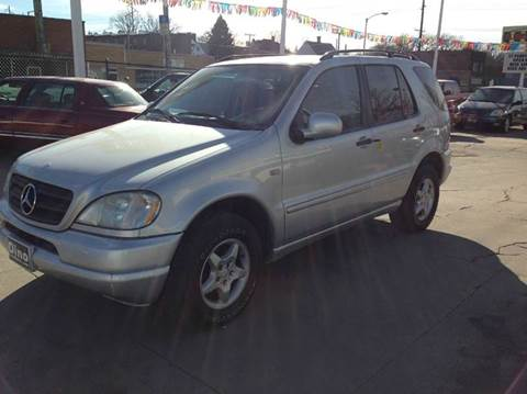 2000 Mercedes-Benz M-Class for sale at Dino Auto Sales in Omaha NE