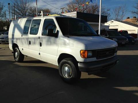 2005 Ford E-Series Cargo for sale at Dino Auto Sales in Omaha NE