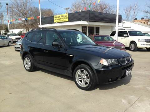 2006 BMW X3 for sale at Dino Auto Sales in Omaha NE