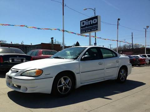 2003 Pontiac Grand Am for sale at Dino Auto Sales in Omaha NE