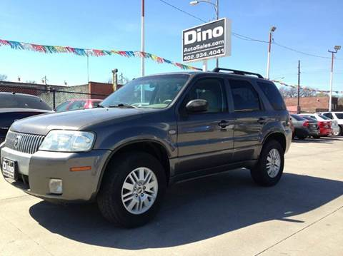 2006 Mercury Mariner for sale at Dino Auto Sales in Omaha NE