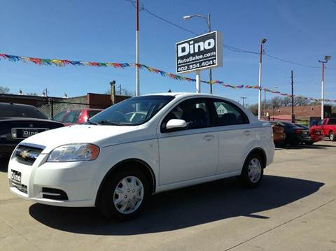 2007 Chevrolet Aveo for sale at Dino Auto Sales in Omaha NE