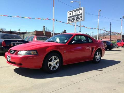 2003 Ford Mustang for sale at Dino Auto Sales in Omaha NE